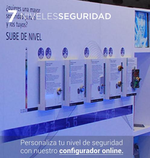 inn 7 niveles de seguridad configurador online