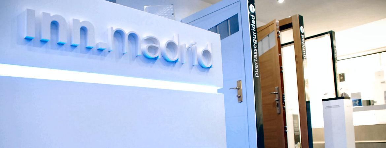 INN.GALLERY Security Point Madrid. Detalle interior