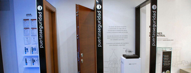 INN.GALLERY Security Point Madrid puertas