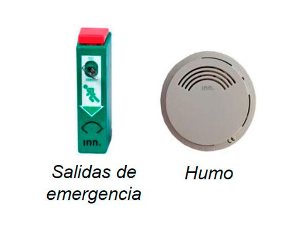 Alarmas para salidas de emergencia