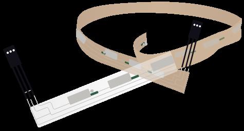 Membrana marco para puertas y ventanas con retención activa